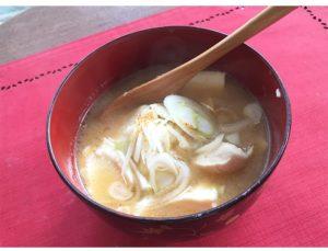 豆腐ラーメンの出来上がり写真