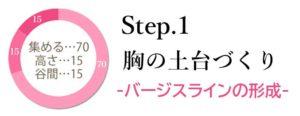 ブラデリスの育乳ブラ・Step1